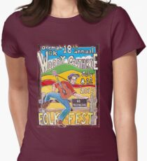Ellis Paul's 2015 WoodyFest design T-Shirt