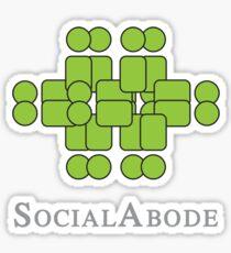 Social Abode Sticker