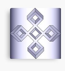 Lavender Cross Canvas Print