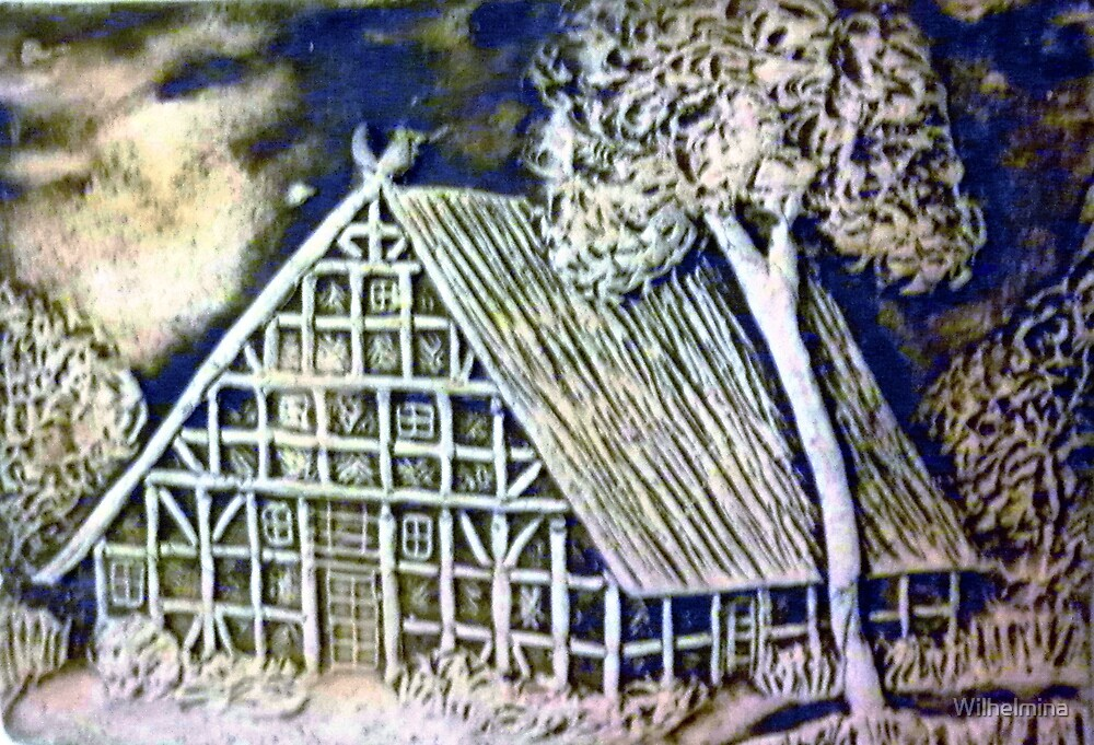 Hansel and Gretel's house by Wilhelmina