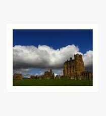 Tynemouth Priory Art Print