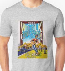 Ellis Paul's 2013 WoodyFest design T-Shirt