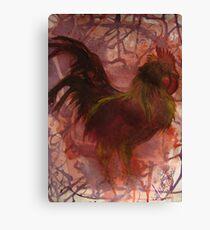 Rhode Island Red Bird Canvas Print