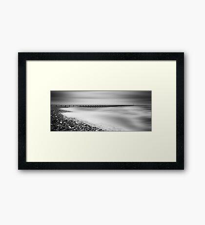 Storm At West Beach Framed Print