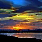 Spring Sunset 2 by Aj Finan