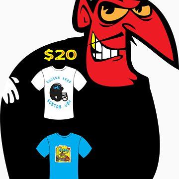 devil tshirt by rogers bros by tron2010