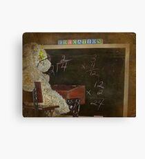 Arithmetic Canvas Print