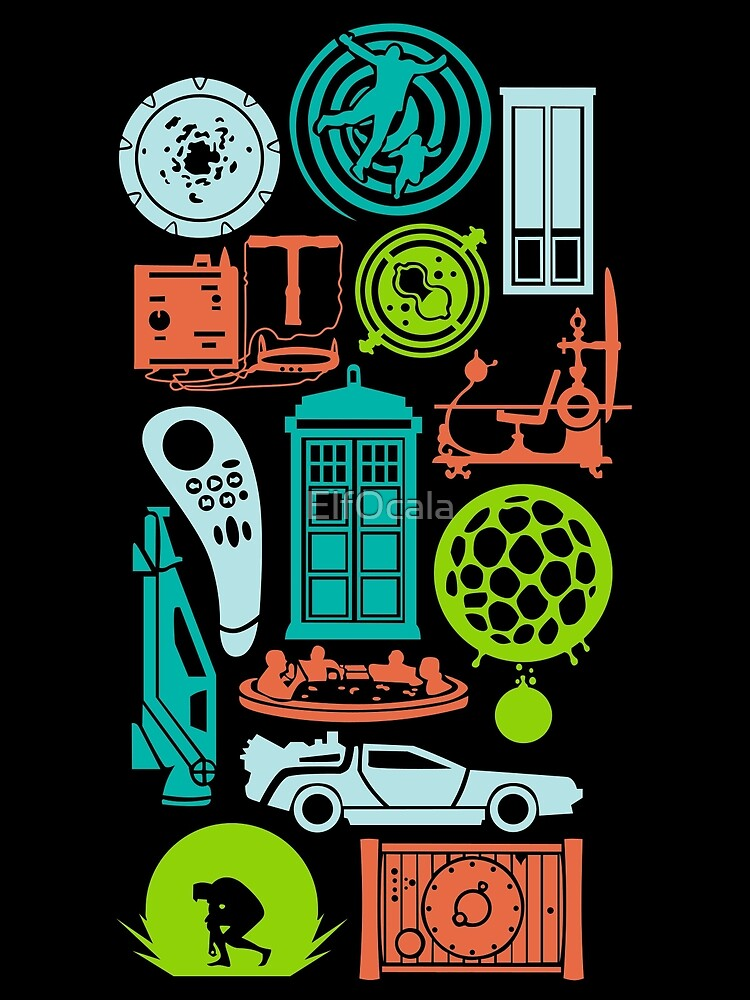 time machine by ElfOcala