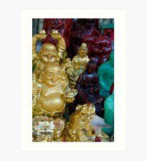 Happy Buddha- SFO Art Print