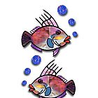 Fish with Bubbles by Kayleigh Walmsley