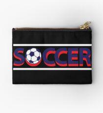 Soccer Soccer Zipper Pouch