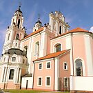 The pink church by bubblehex08