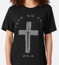 Fear No Evil - Cross #2 Slim Fit T-Shirt