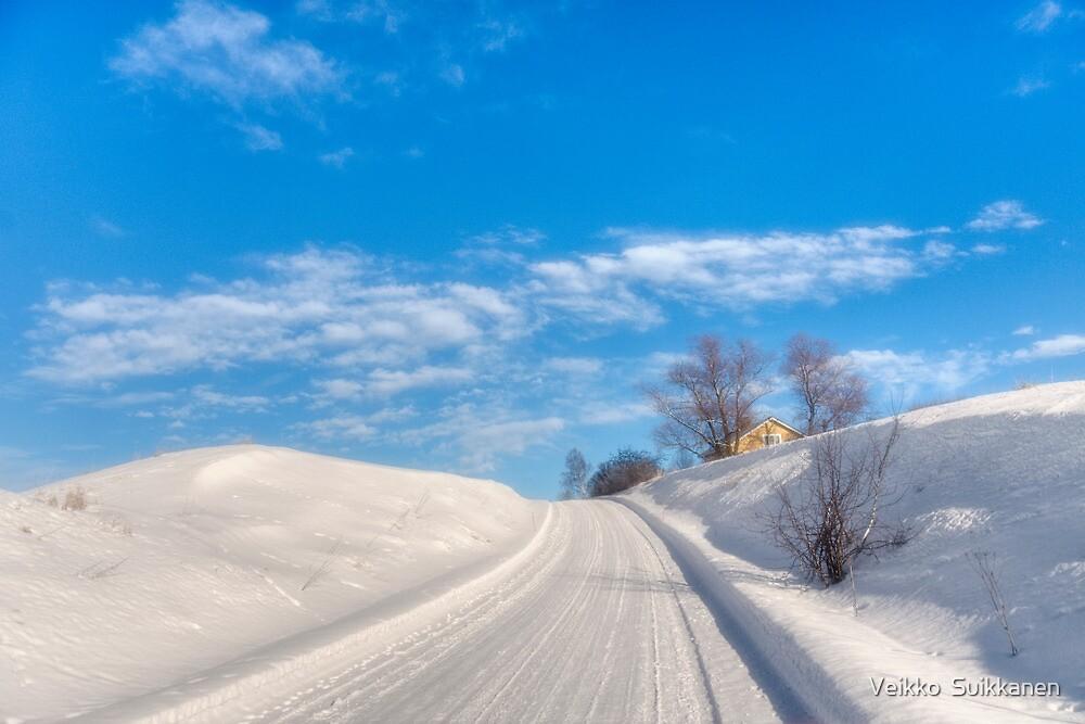 A lovely winter's day by Veikko  Suikkanen