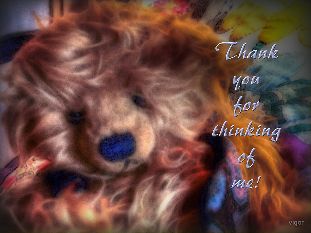 Beary Thoughtful for Cheryl by vigor