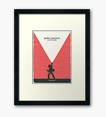 Minimalist Video Games: Pokemon Red Version  Framed Print