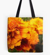 A sea of orange. Tote Bag
