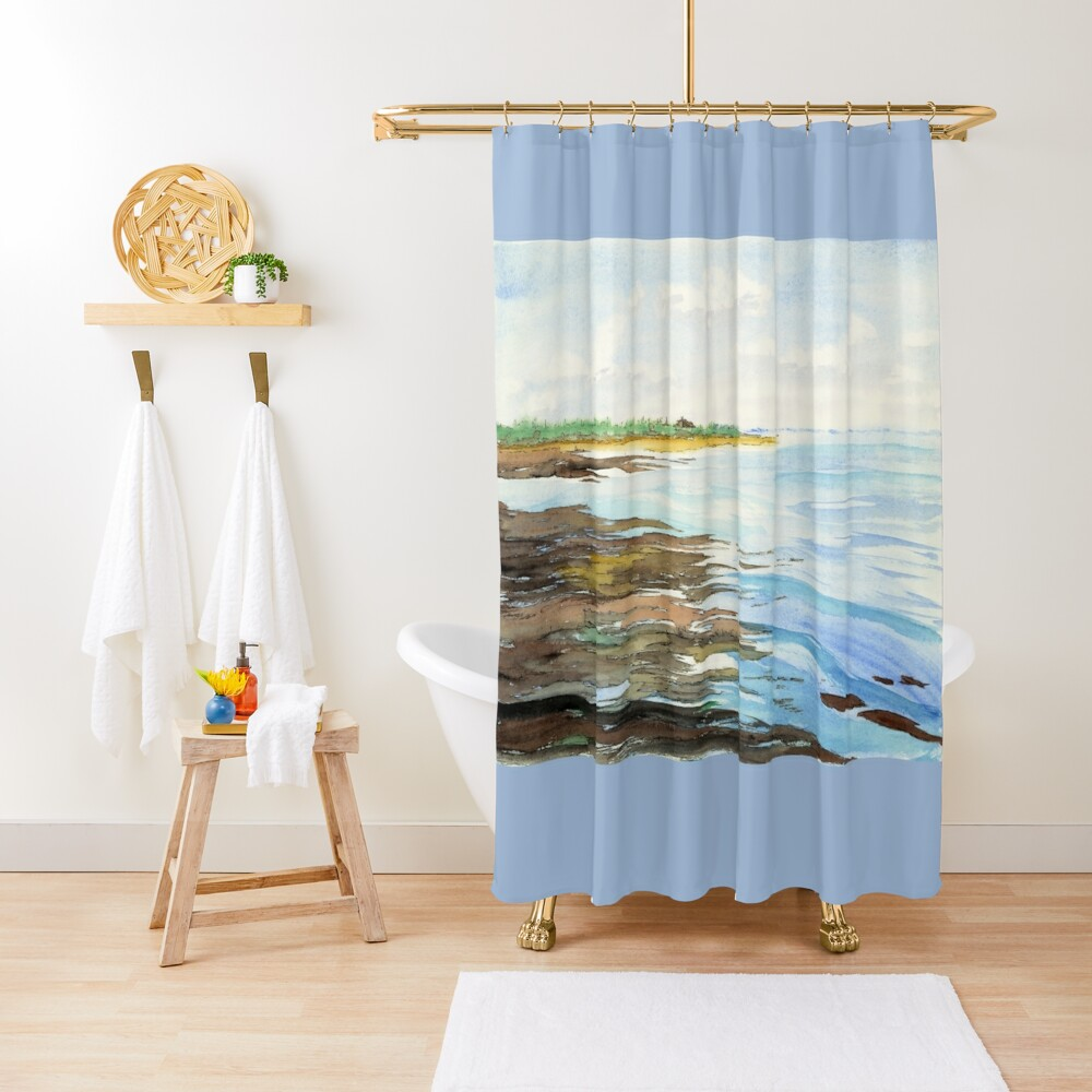 On the Sands Shower Curtain