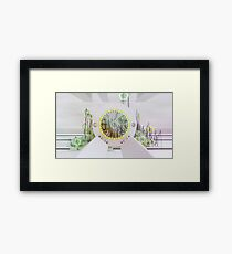 Flora Study - Abstract CG Framed Print
