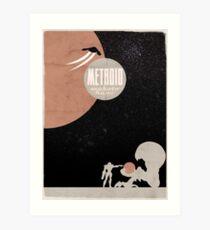 Minimalist Video Games: Metroid Art Print