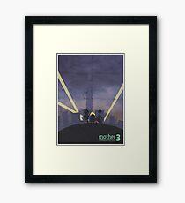 Minimalist Video Game Art: Mother 3  Framed Print