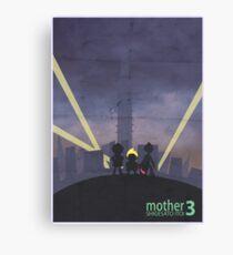 Minimalist Video Game Art: Mother 3  Canvas Print
