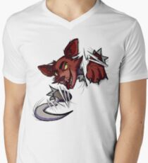 Here's Foxy! Men's V-Neck T-Shirt