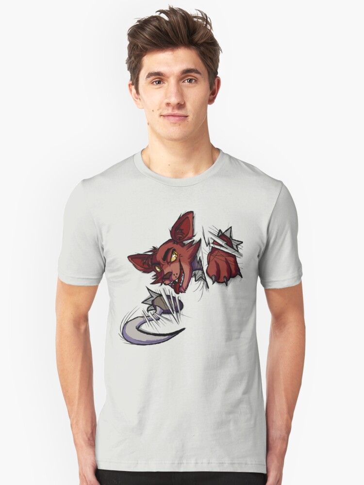 Here's Foxy! Unisex T-Shirt Front