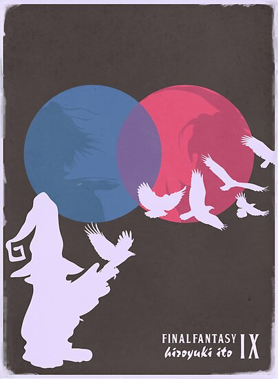 Minimalist Video Games: Final Fantasy IX by colorlust