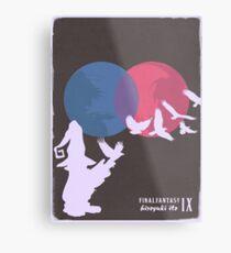 Minimalist Video Games: Final Fantasy IX Metal Print