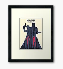 Minimalist Video Games: Resident Evil  Framed Print
