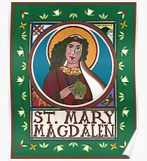 Icon of Mary Magdalen Poster