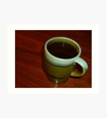 02-07-11  High Tea Art Print