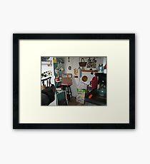 Artists studio Framed Print