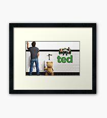 TED 2 SUPER MOVIE  Framed Print