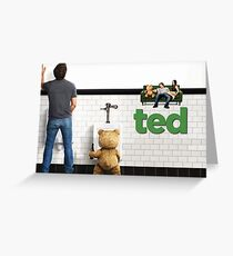 TED 2 SUPER MOVIE  Greeting Card