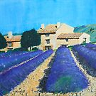 Cassis Farm Lavender by Heberto   G. Cavazoz