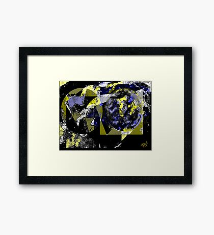 The Moon Phase1 Framed Print