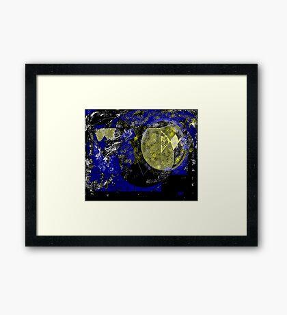 The Moon Phase 2 Framed Print