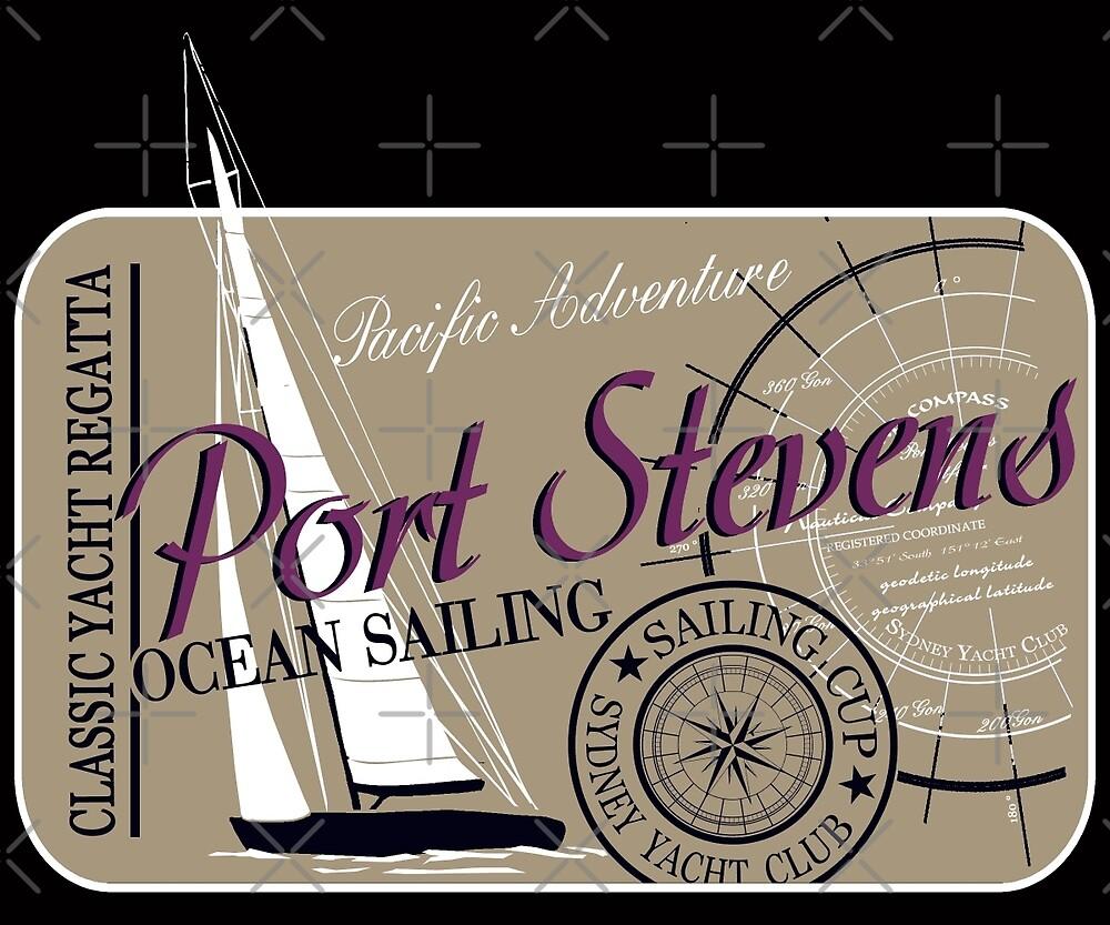Ocean Sailing Sailingboat by Port-Stevens