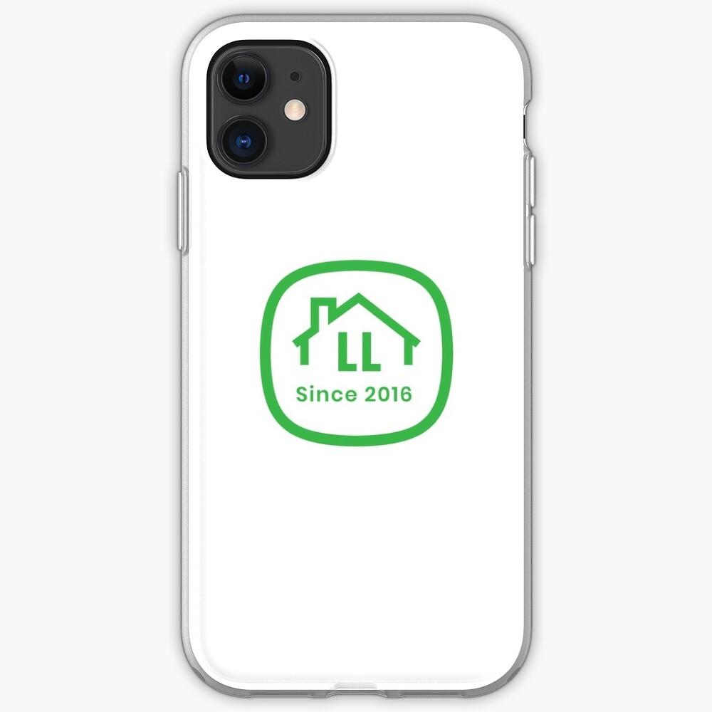 LL White Badge iPhone Soft Case