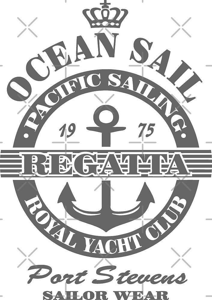 Ocean sail regatta by Port-Stevens