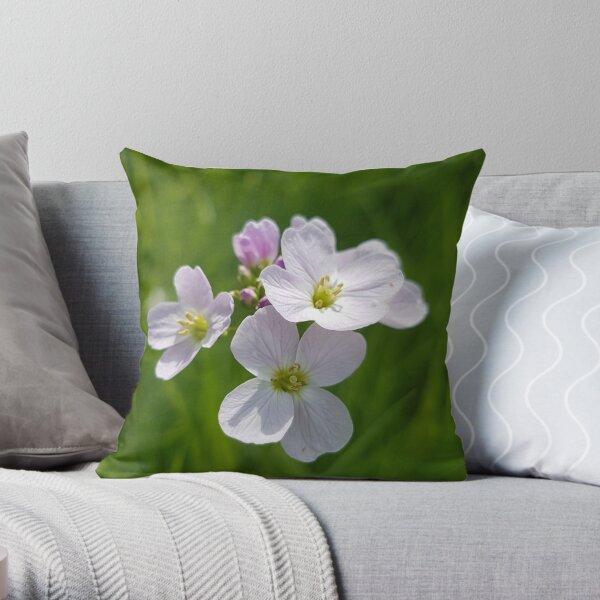 Cuckoo Flower Throw Pillow