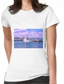 The Albacore At USCG Station New London Womens Fitted T-Shirt