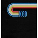 Tape - Magnetbandkassette K60 von Black Sign Artwork