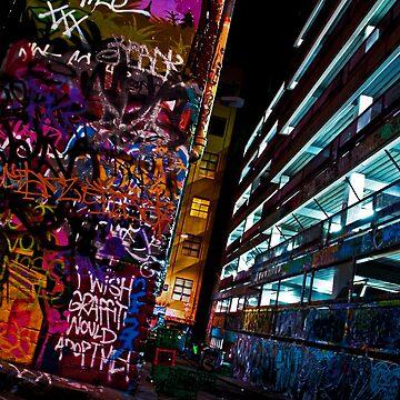 Graffiti Adoption - Melbourne by shotimagery