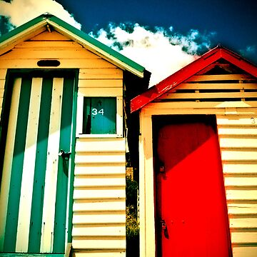 Boxes by the sea - Mornington by shotimagery