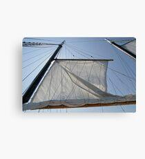 Sailing in Nova Scotia Canvas Print