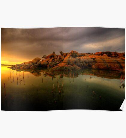 Sunset Sliver Poster