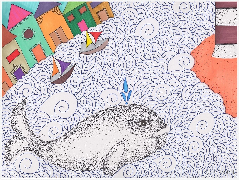 Save the Whale! by Devi Senthil